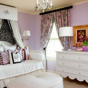 шторы в детскую комнату фото интерьеьра