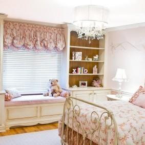 шторы в детскую комнату оформление