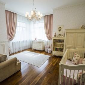 шторы в детскую комнату варианты
