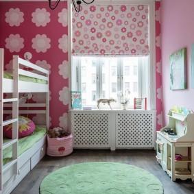 шторы в детскую комнату фото вариантов