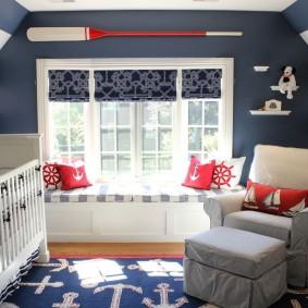 шторы в детскую комнату идеи виды