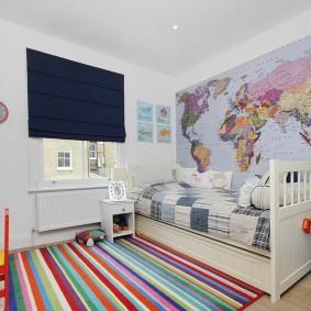 шторы в детскую комнату виды декора