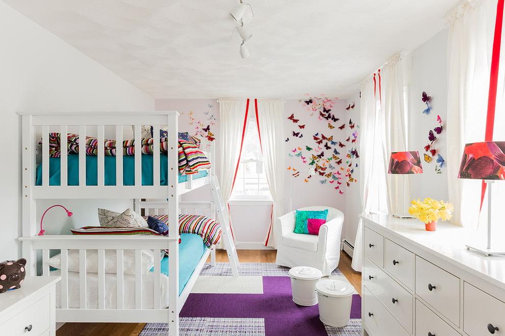 шторы в детскую комнату декор