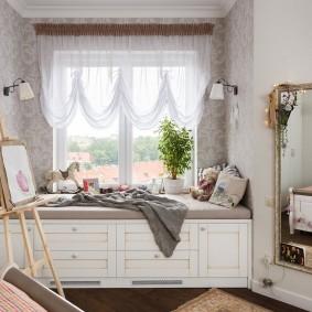 шторы в детскую комнату девочки фото