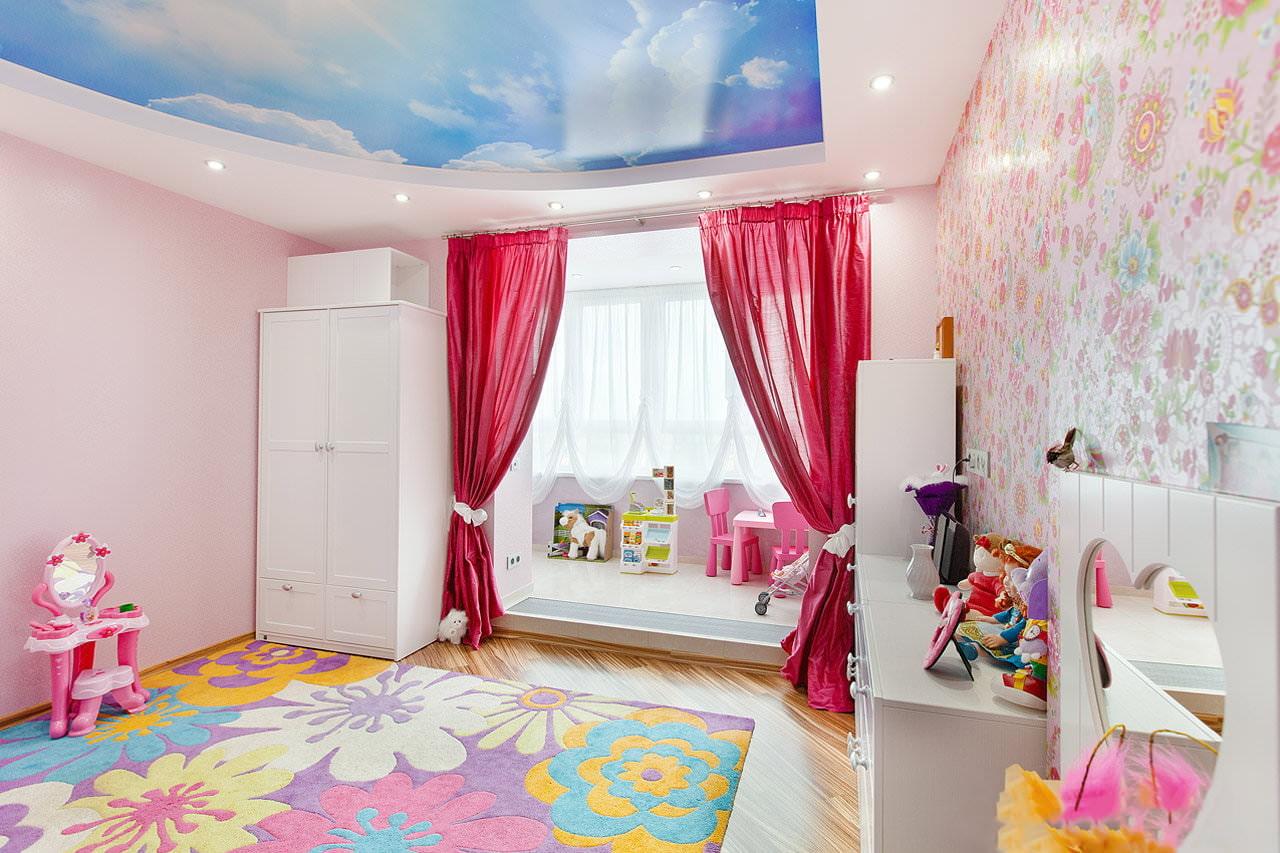 шторы в детскую комнату фото