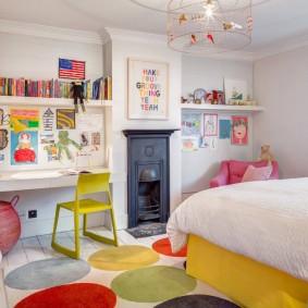 современная детская комната дизайн идеи