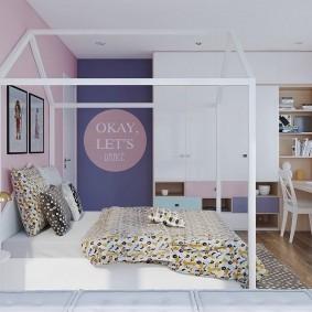 современная детская комната декор
