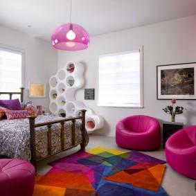 современная детская комната декор фото