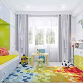 современная детская комната интерьер фото