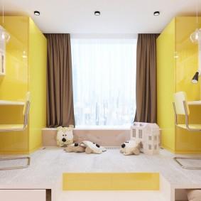 современная детская комната идеи интерьер