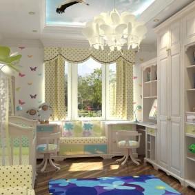 современная детская комната оформление