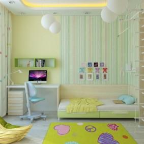 современная детская комната оформление фото