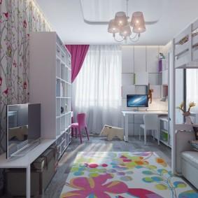 современная детская комната идеи