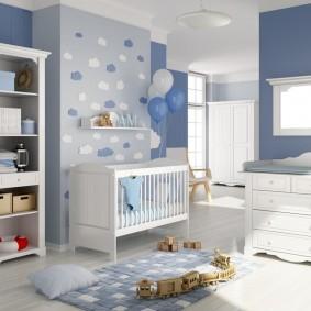 современная детская комната идеи виды