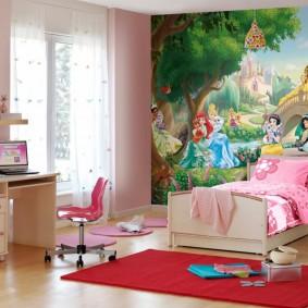 современная детская комната виды дизайна