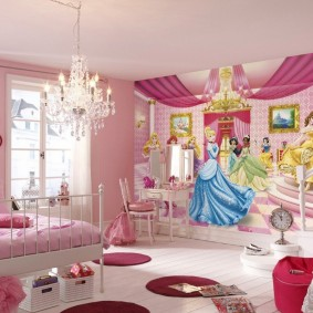 современная детская комната виды декора