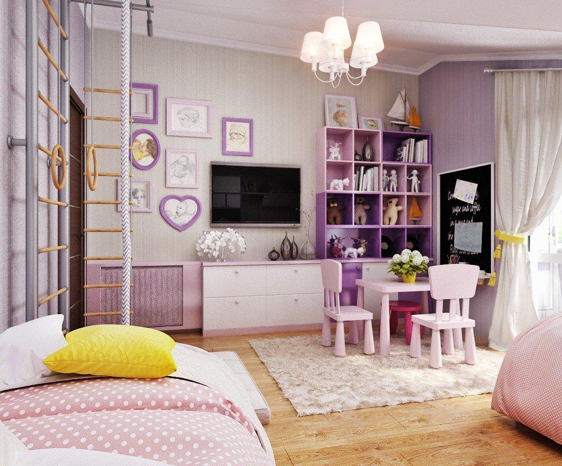 современная детская комната дизайн