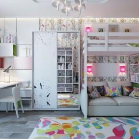 современная детская комната фото идеи