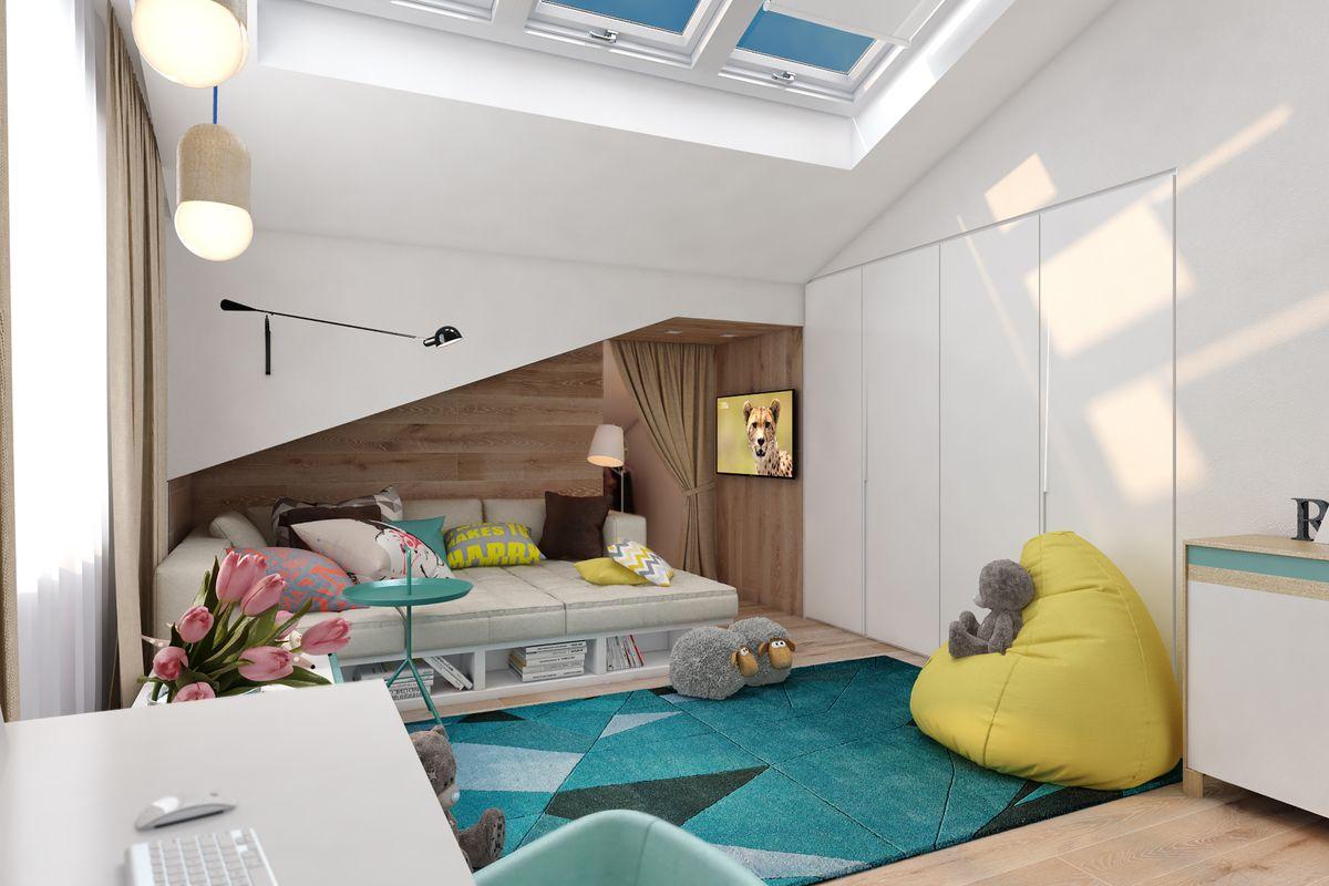 современная детская комната фото