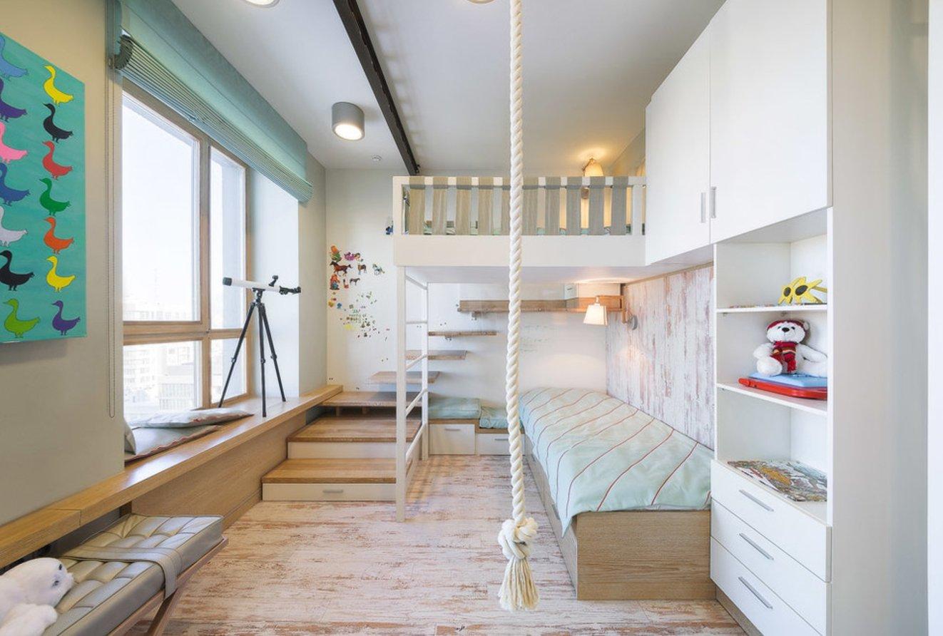 современная детская комната идеи декора