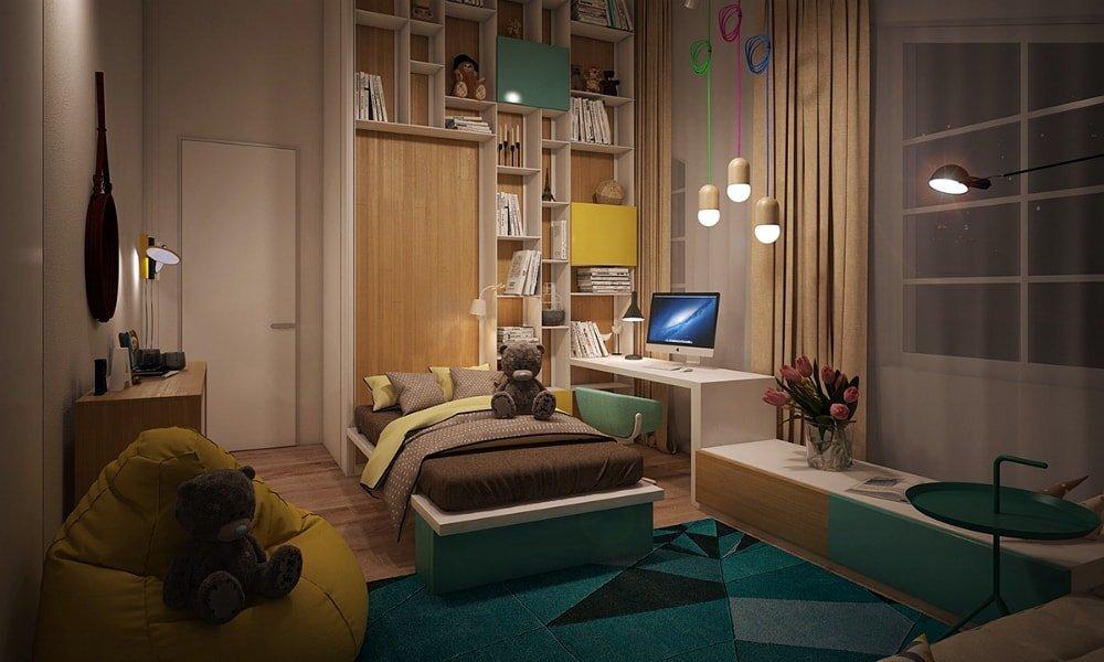 современная детская комната идеи дизайн