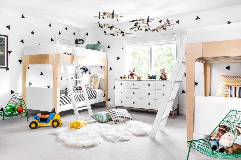 современная детская комната интерьер