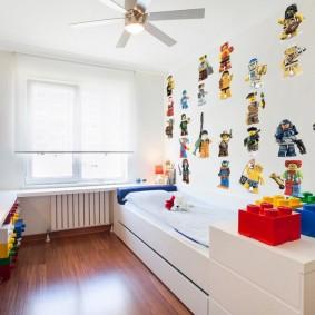 современная детская в квартире