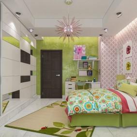 современная детская в квартире декор