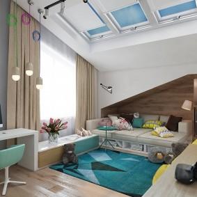 современная детская в квартире фото декор