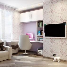 современная детская в квартире фото декора