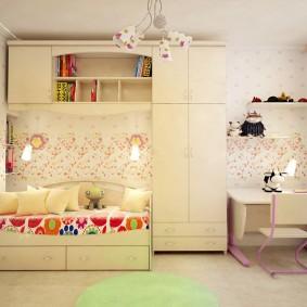 современная детская в квартире декор идеи