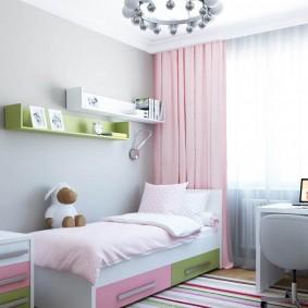 современная детская в квартире фото интерьер