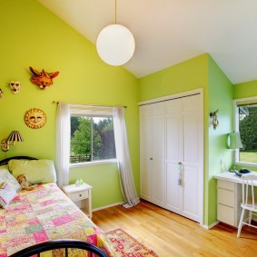 современная детская в квартире фото интерьера