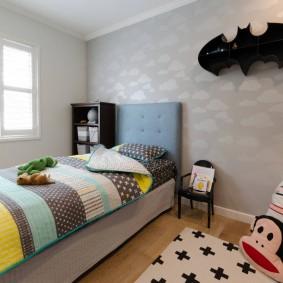 современная детская в квартире интерьер идеи