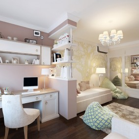 современная детская в квартире оформление