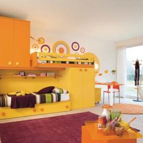 современная детская в квартире фото оформления