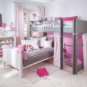 современная детская в квартире идеи оформление