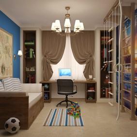 современная детская в квартире варианты
