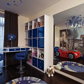 современная детская в квартире варианты фото