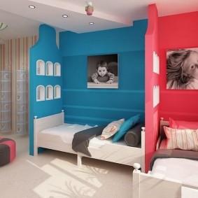 современная детская в квартире виды оформления