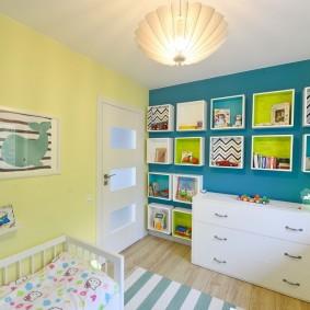 современная детская в квартире дизайн фото