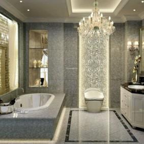 современная ванная комната декор идеи