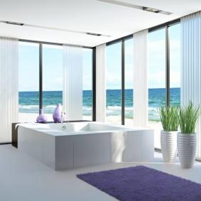 современная ванная комната оформление