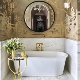 современная ванная комната фото вариантов