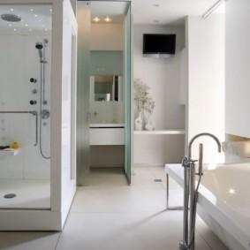современная ванная комната виды
