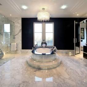 современная ванная комната фото видов