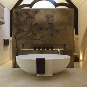 современная ванная комната виды дизайна