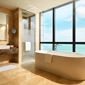 современная ванная комната идеи дизайн