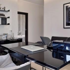 кабинет в квартире современный