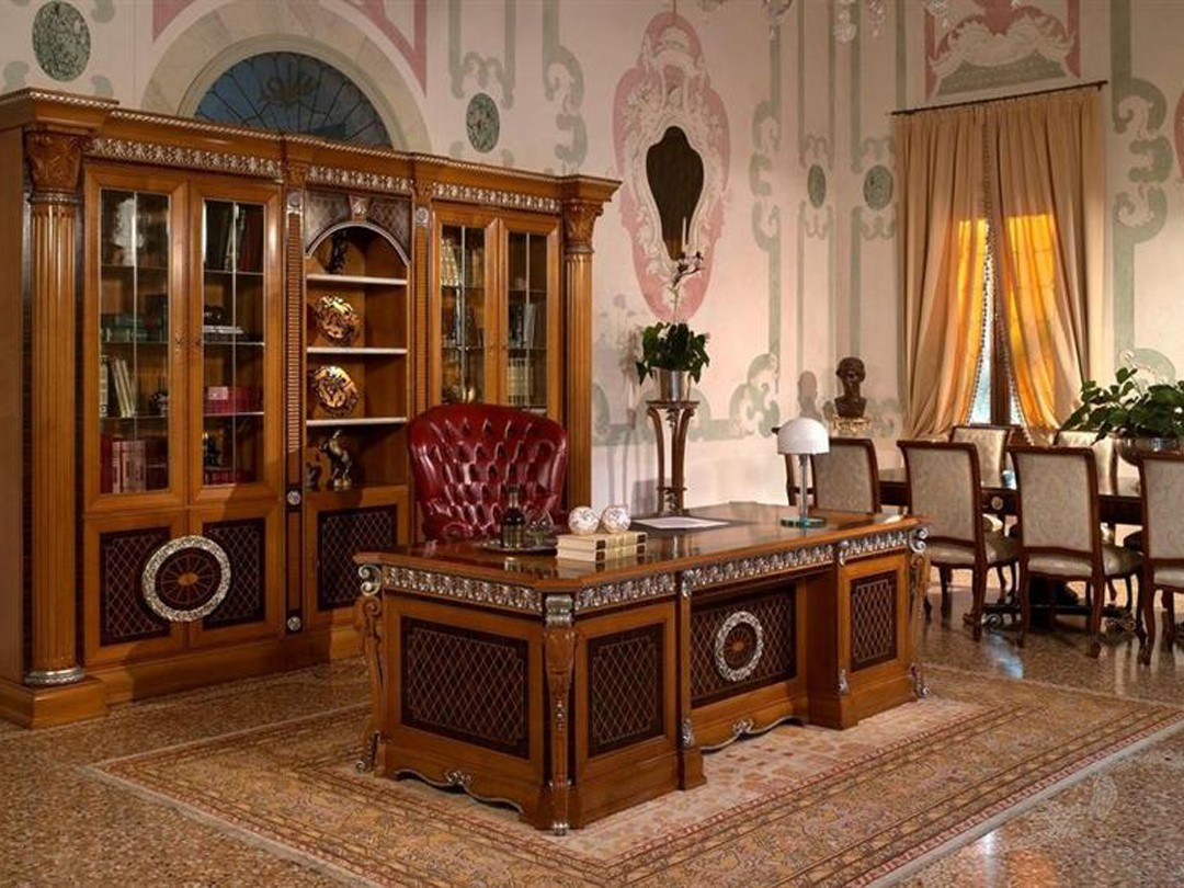создание интерьера домашнего кабинета